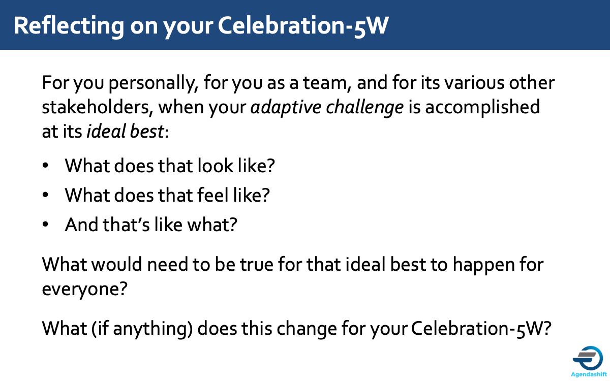 adaptive challenge ideal best